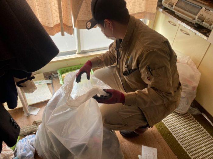 茨城県・30代・女性・ゴミ屋敷清掃のご依頼を頂きました!