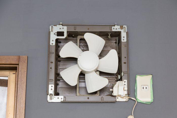 【キッチン・お風呂・トイレ】換気扇掃除の手順 <プロペラファンタイプ>