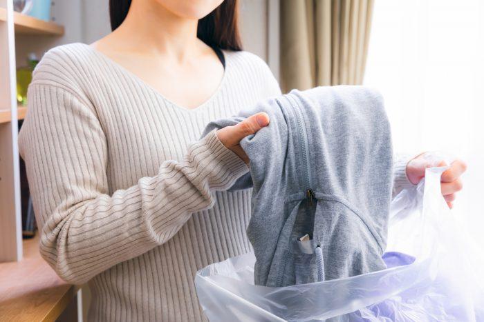 衣服を処分したい!方法や手順は?