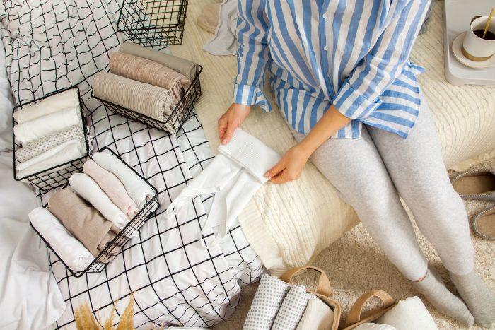 衣服を整理しよう!上手な収納方法とは?