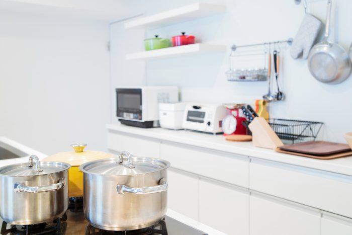 料理のしやすさが段違いに!キッチンの収納テクニック